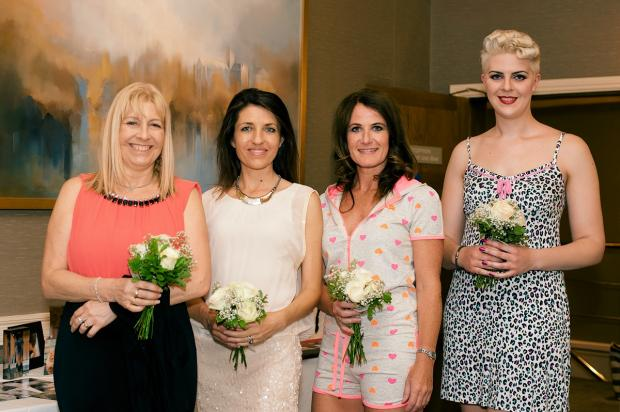 Left to right: Debbie Diggle, Annie Brewster, Lisa Bates and Sarah - Helen