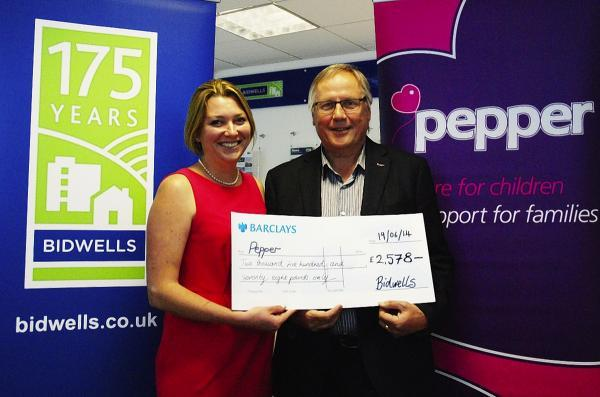 St Albans property consultancy raises thousands with fundraising events