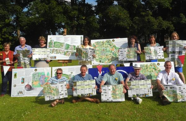 New 'walking maps' unveiled in Wheathampstead