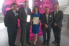 Westminster Lodge Leisure Centre has won national award for energy-efficient and innovative design.