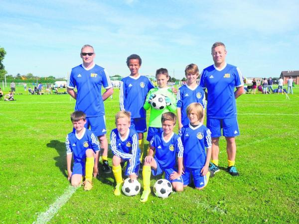 St Albans Under-9s North win the Churwell Lions gala
