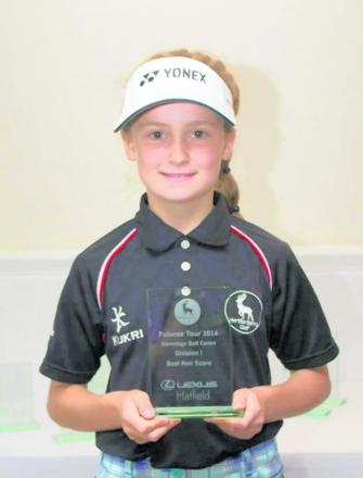 Maddie Rolph was in top form on the Herts Futures Tour