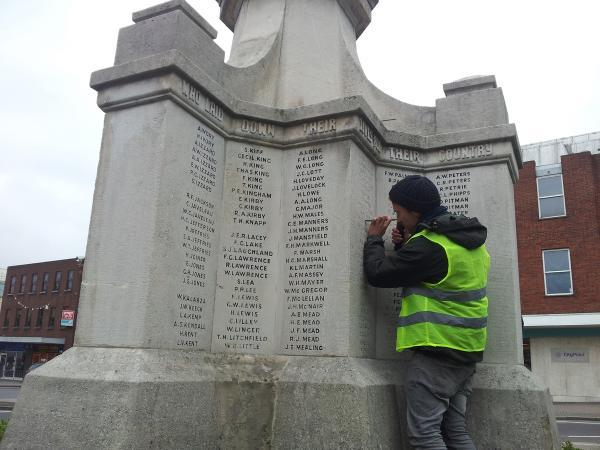 World War One memorials restored ahead of centenary