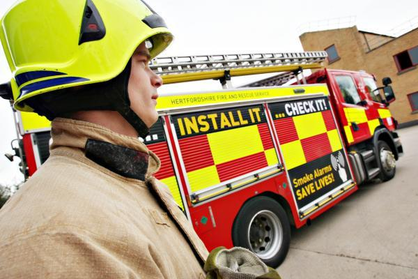 Firefighters called to St Albans house at the weekend