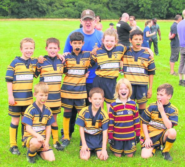 St Albans Centurions Under-9s competed at the rugby festival