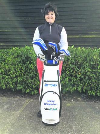 Becky Brewerton will put on a morning clinic at Redbourn Golf Club