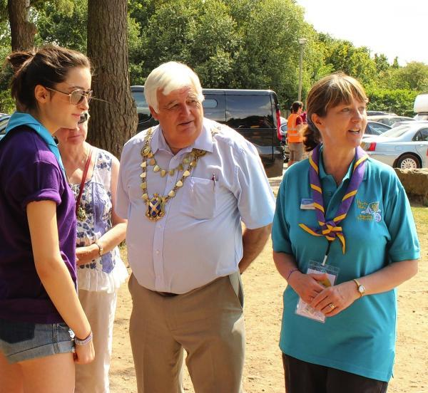 Girls and leaders get together to celebrate 100 years of guiding in Hertfordshire