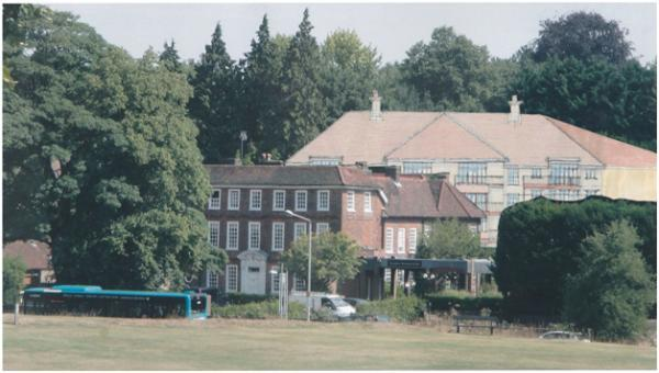 Plans to build a 'gargantuan' new estate on the site of former Harpenden House Hotel
