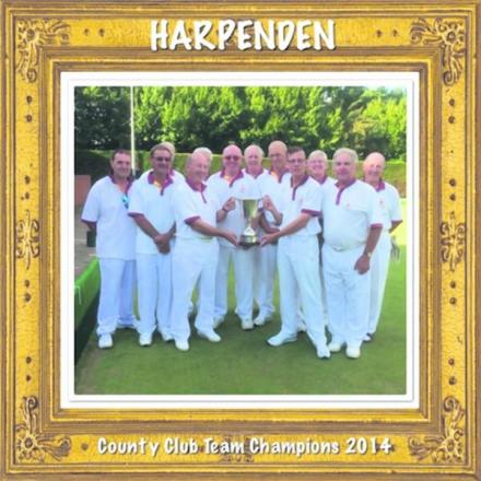 Harpenden were crowned County Team champions