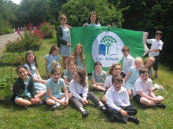 SS Alban and Stephen Junior School given Green Flag award