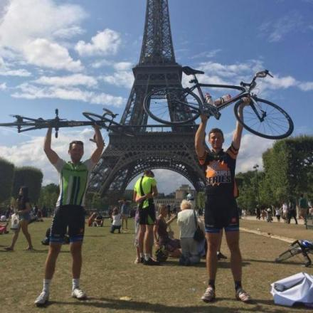 St Albans man raises £2,500 for charity after cycling 300 miles from London to Paris