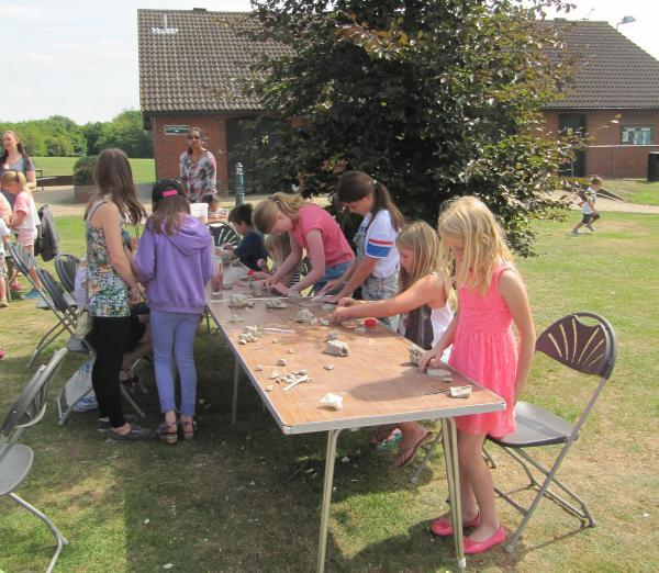 More than 150 children enjoy new crafts during national Love Parks Week