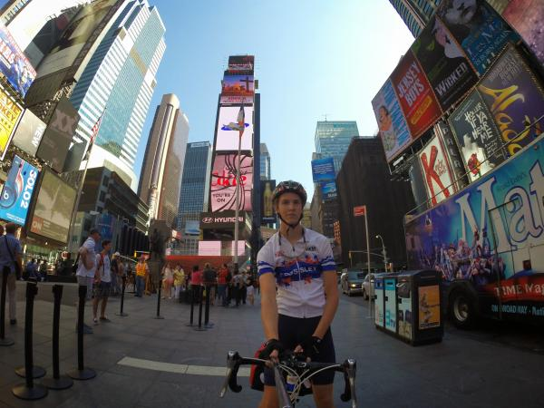 St Albans man cycling across USA for charity