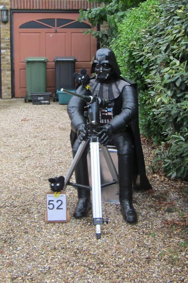 St Albans & Harpenden Review: First place prize went to Andrew Lamborne for his interpretation of Darth Vader