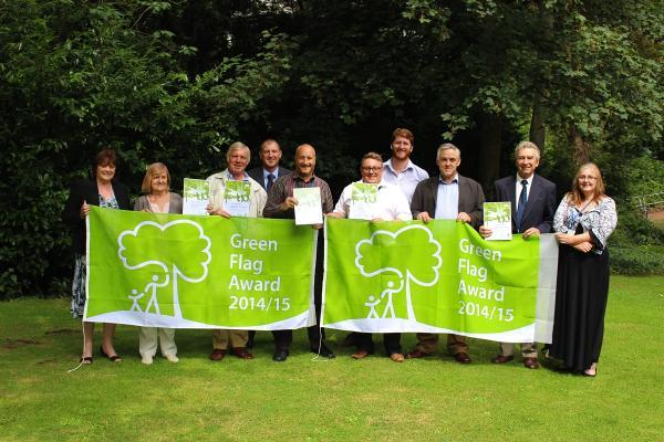 Green Flags for St Albans parks