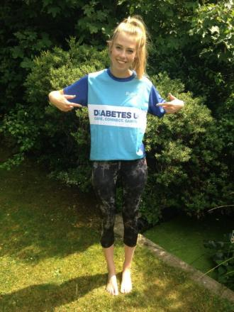A 23-year-old student from Harpenden is running the Bupa Great North Run for Diabetes UK