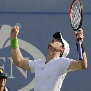 Andy Murray is happy with his form ahead of a US