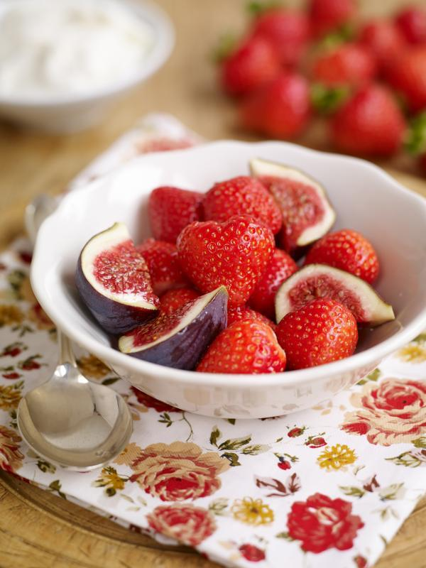 Recipe: Sophie Michell's Sweet Eve strawberry, fig and rosewater salad