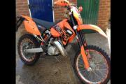 Police are investigating the theft of an orange KTM motorbike from Colney Heath