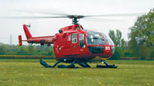 Hertfordshire is one of three counties in the UK without an air ambulance