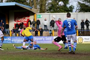 Wasteful Saints allow Staines to go down with a clean sheet