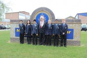 St Albans Mayor judges school projects