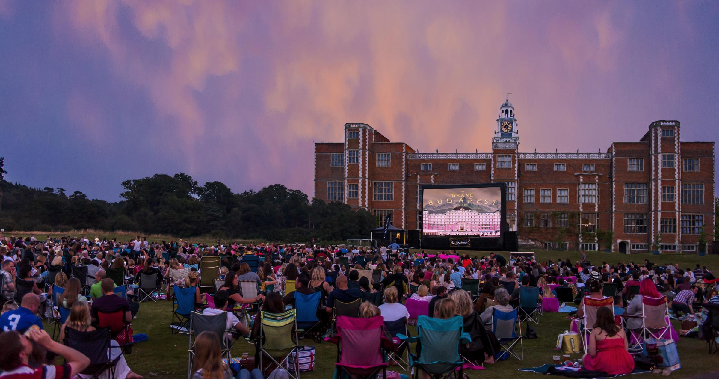 Luna Cinema at Hatfield House