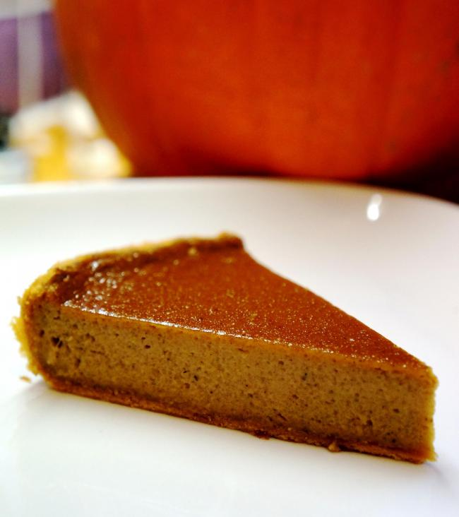 Theo Michael's pumpkin pie