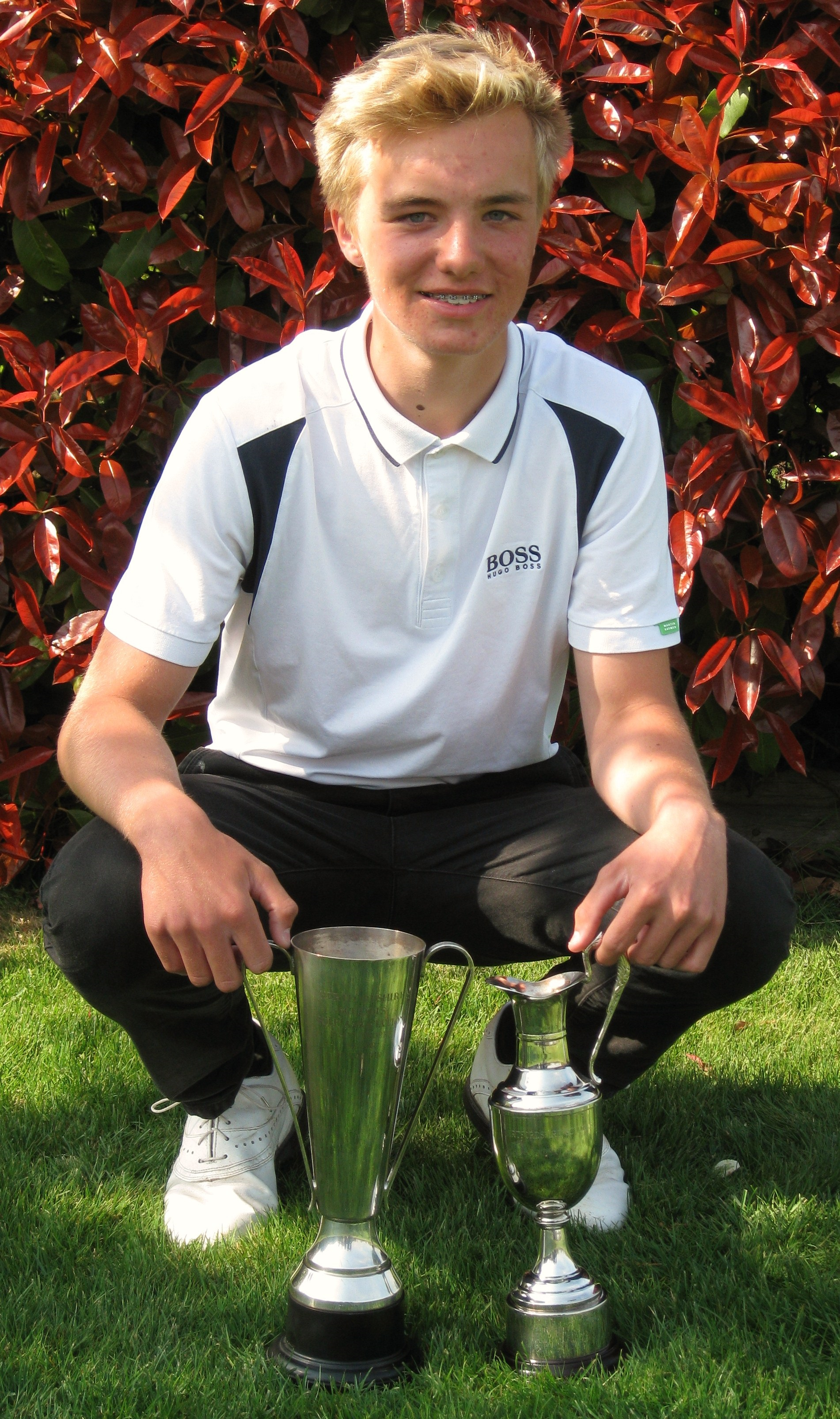 Junior golfers at Redbourn Golf Club named Hertfordshire county captains  From St Albans  amp  Harpenden Review  St Albans Review