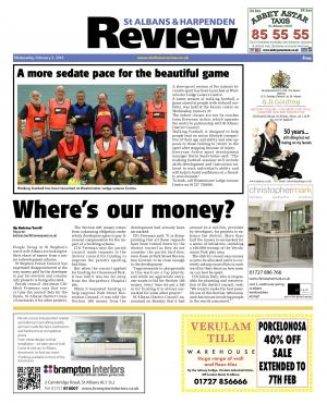 St Albans & Harpenden Review: Read the e-edition of this week's St Albans and Harpenden Review and access our online archive