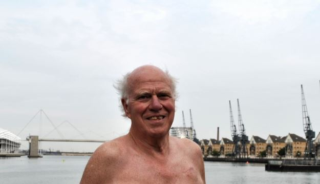 Andrew Butcher, 69, is unable to complete the Channel swim because of a recent cancer diagnosis