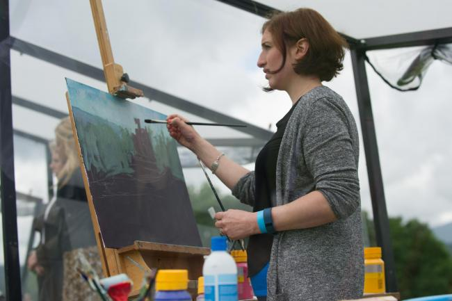 Harpenden artist Anna Perlin will compete on Sky Arts' Landscape Artist of the Year