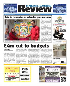 St Albans & Harpenden Review: Read this week's e-newspaper and access our online archive.
