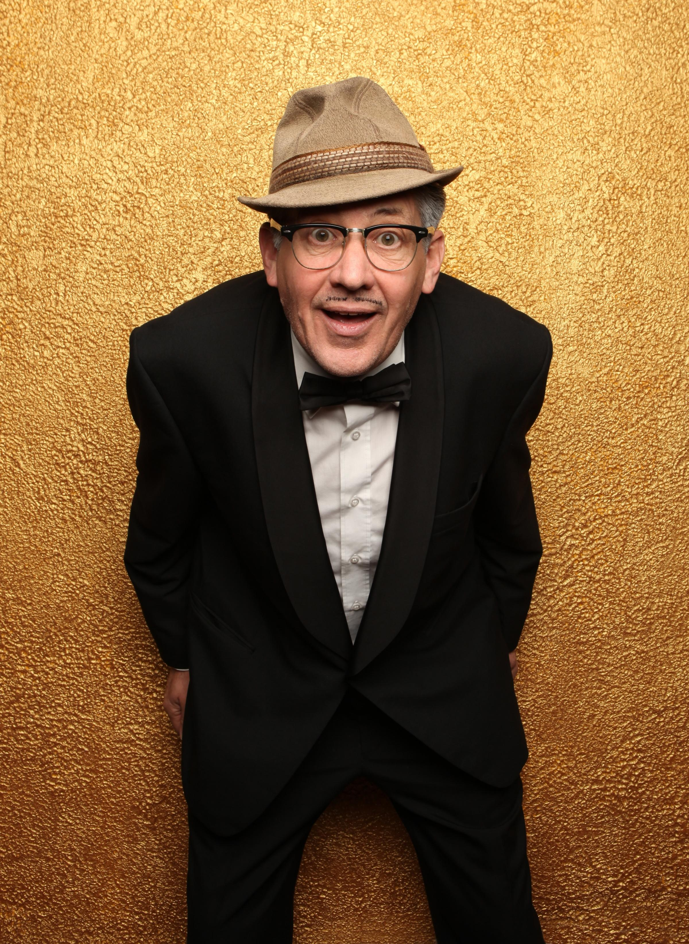 Count Arthur Strong played by Steve Delaney, photo by Andy Hollingworth