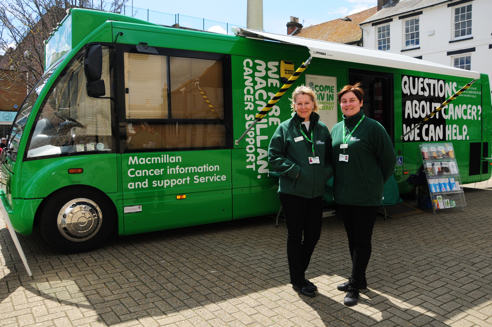 Macmillan Cancer Support Information Service in Hayes