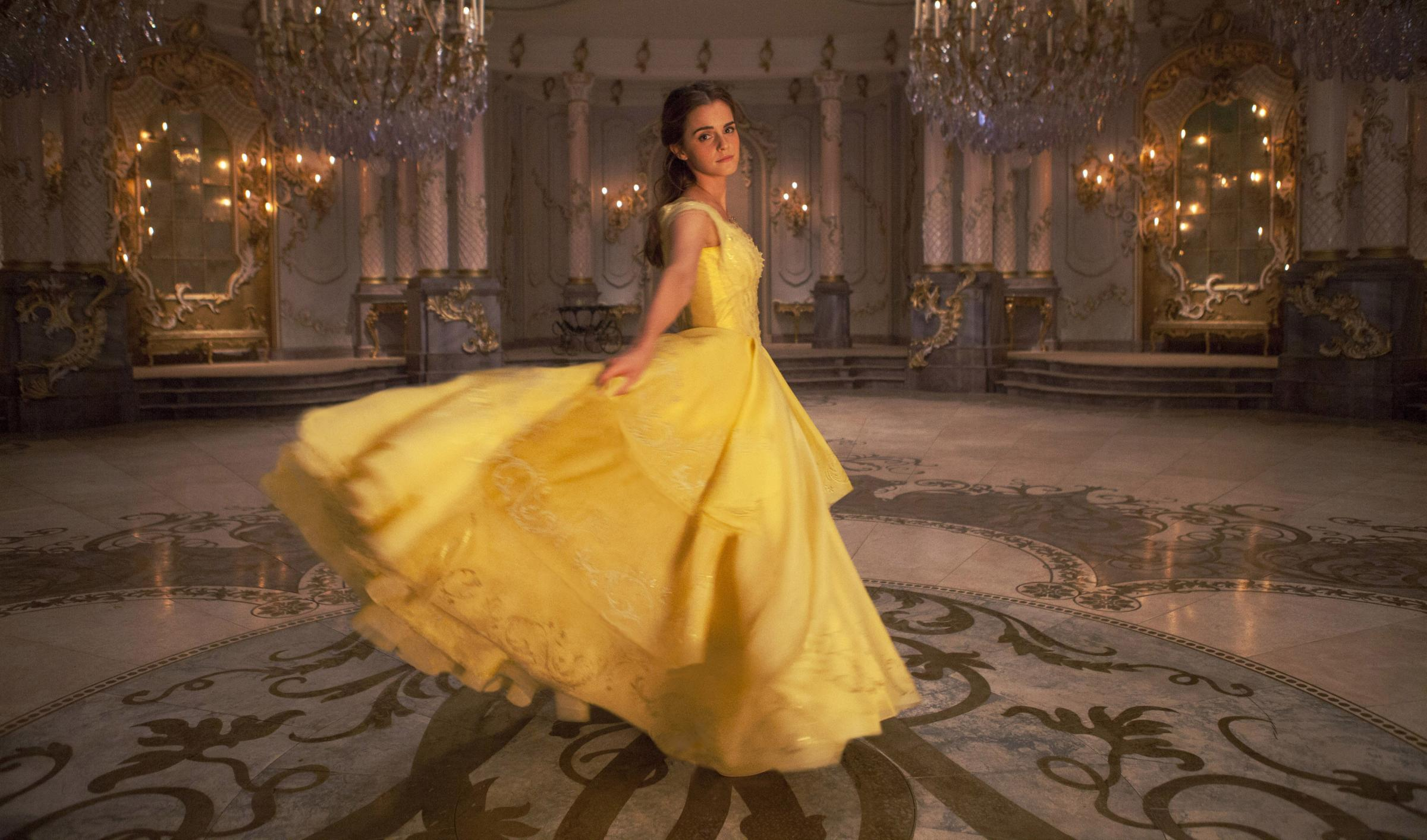 Film Still Handout from Beauty and the Beast. Pictured: Emma Watson as Belle. Picture credit: PA Photo/Disney.