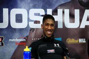 Watford boxer Anthony Joshua is preparing to fight on Saturday