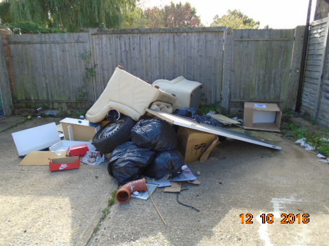 Flytipping has 'probably' reduced