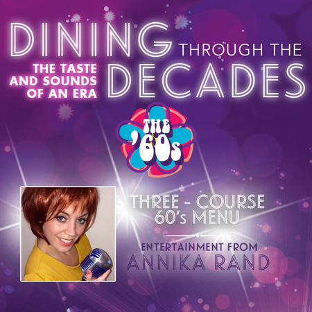Dining Through The Decades - 60s