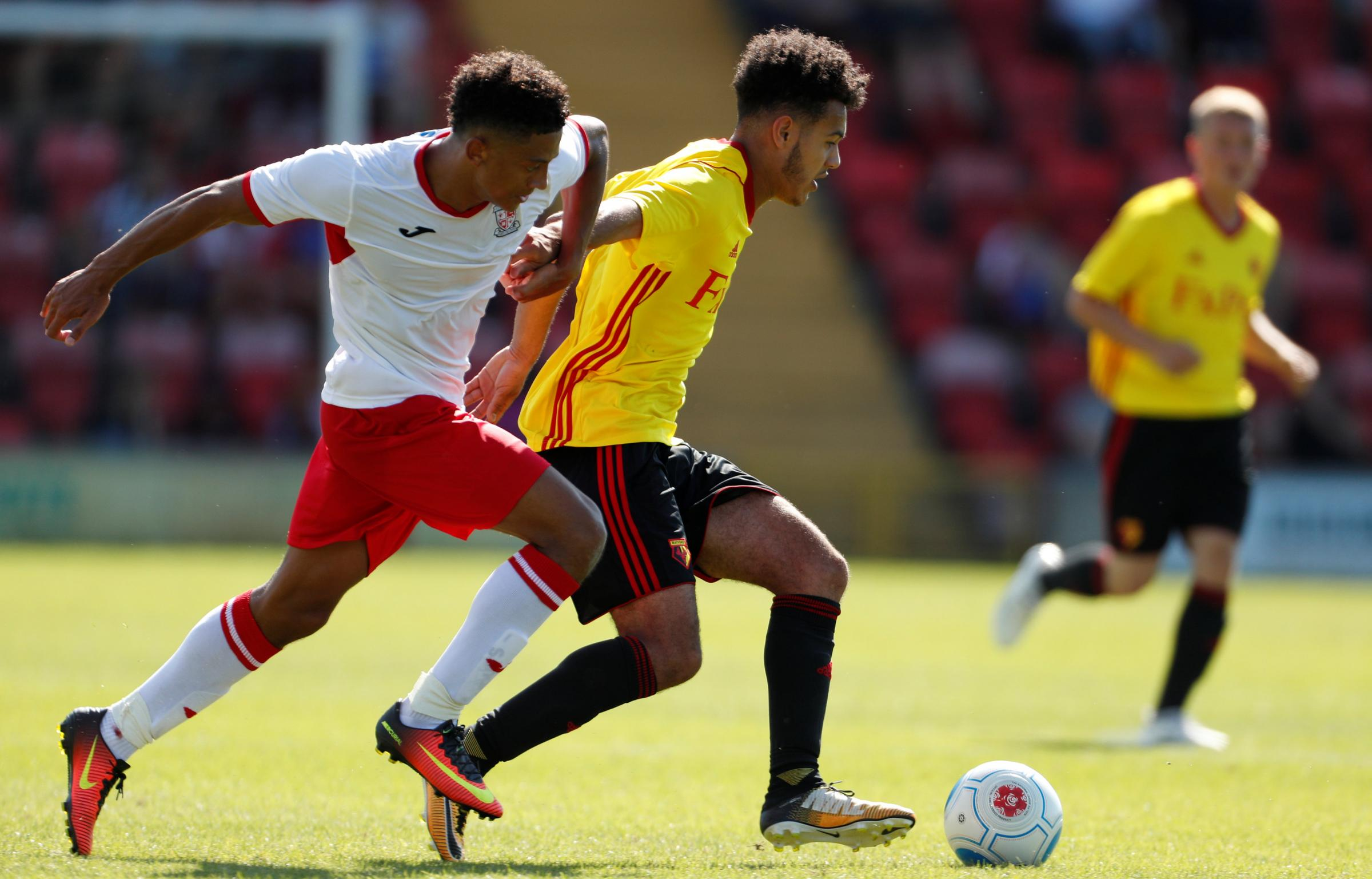 Dion Pereira in action for the Under-23s at Woking. Picture: Action Images
