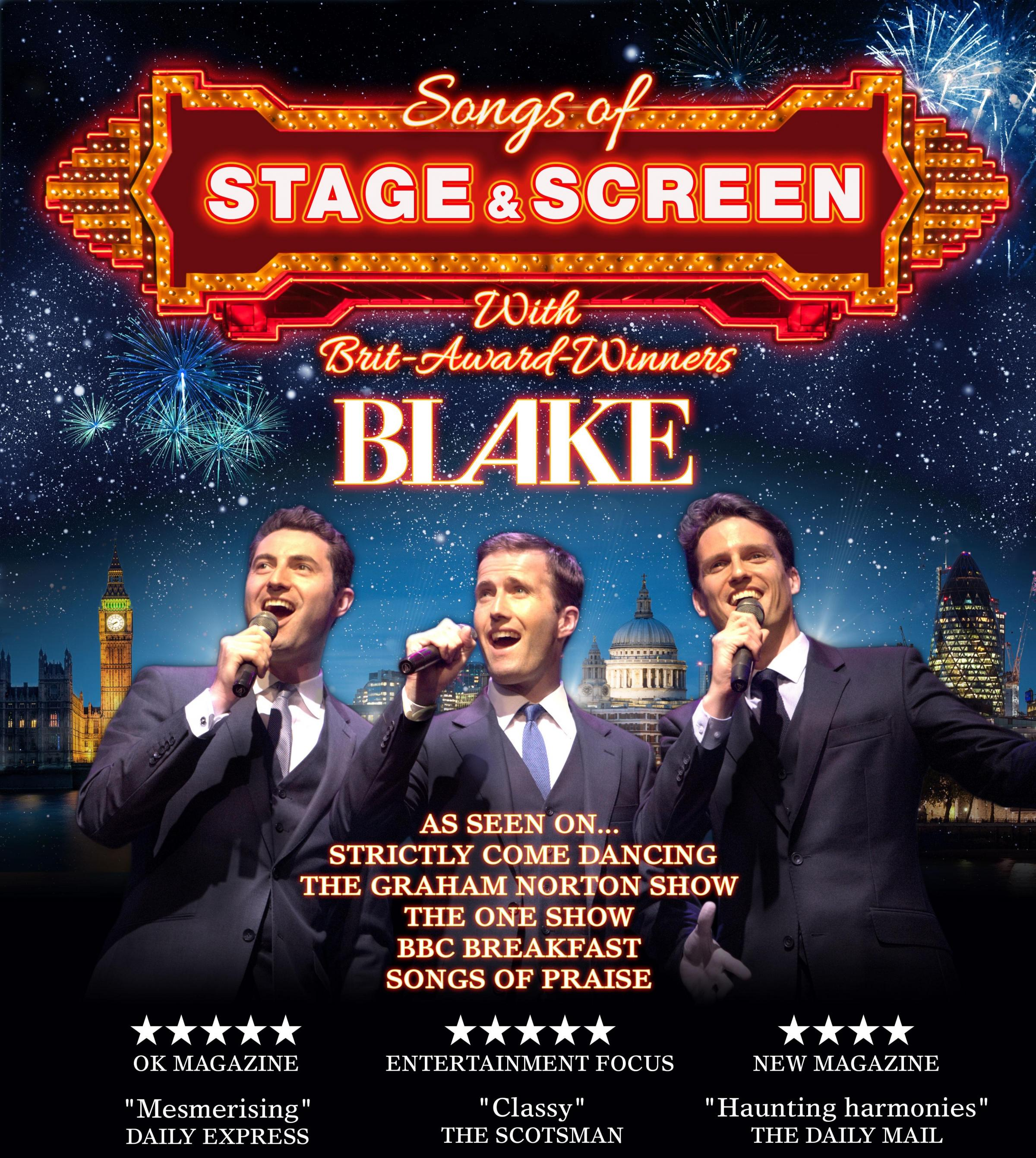 Blake - Songs of Stage & Screen