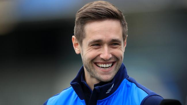 Chris Woakes took three wickets as England booked their Cricket World Cup final place