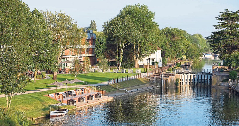 The Runnymede-On-Thames: modern luxury at the centre of nature
