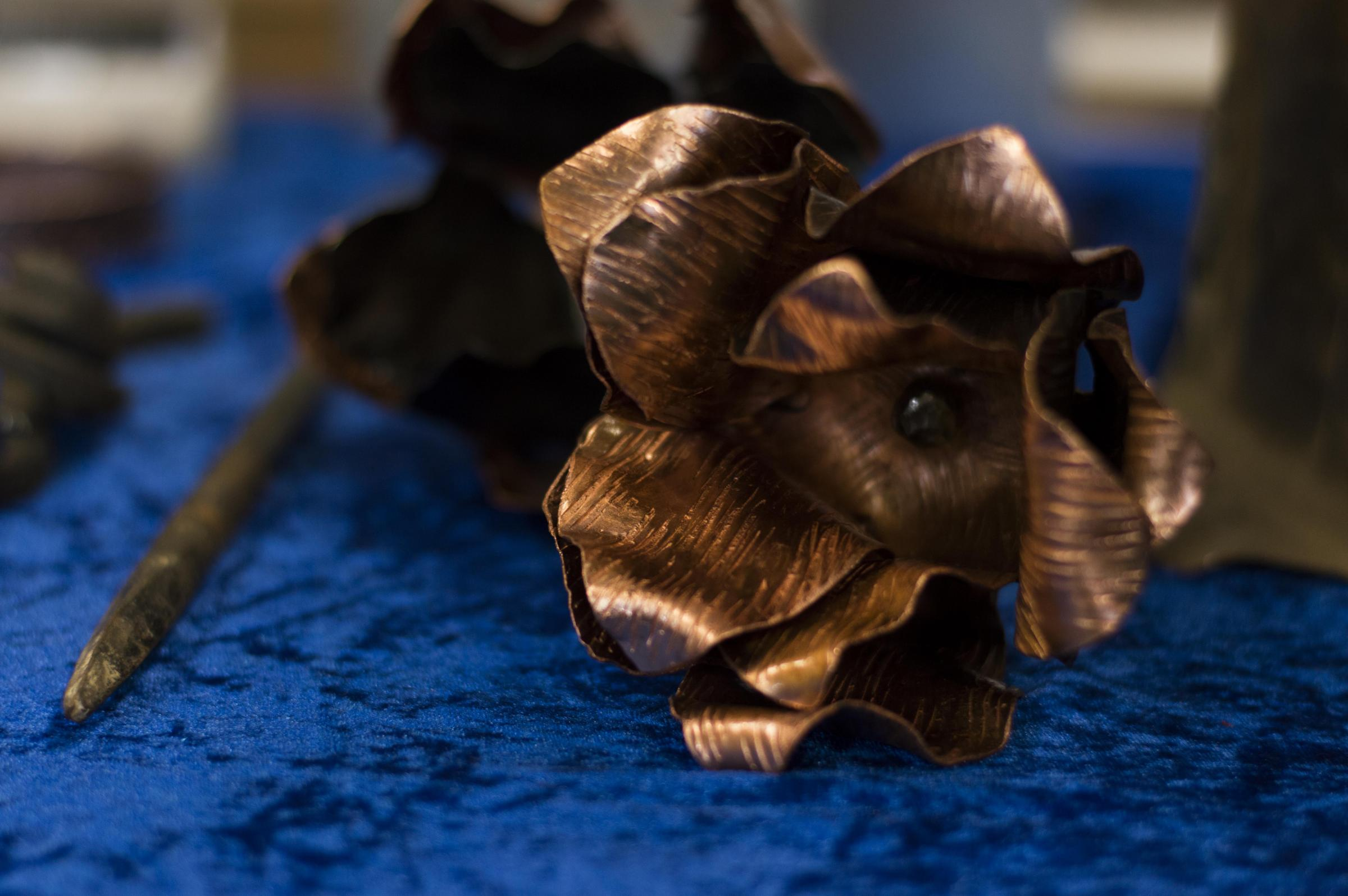 Metal Flower Workshop with Queens Park Arts Centre