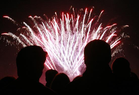 St Albans & Harpenden Review: Fireworks light the sky
