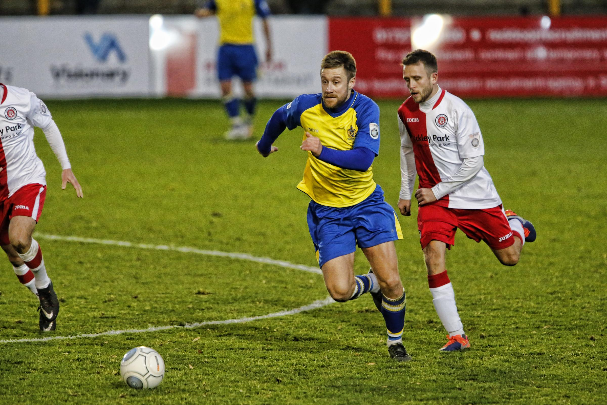 St Albans City overcame Poole 3-1 on Saturday. Picture: Action Images