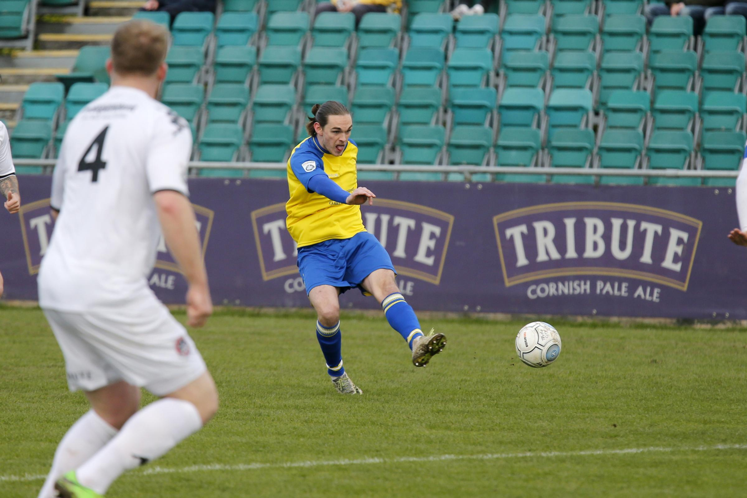 Tom Bender is one of two St Albans City players to have committed his future to St Albans City. Picture: Action Images