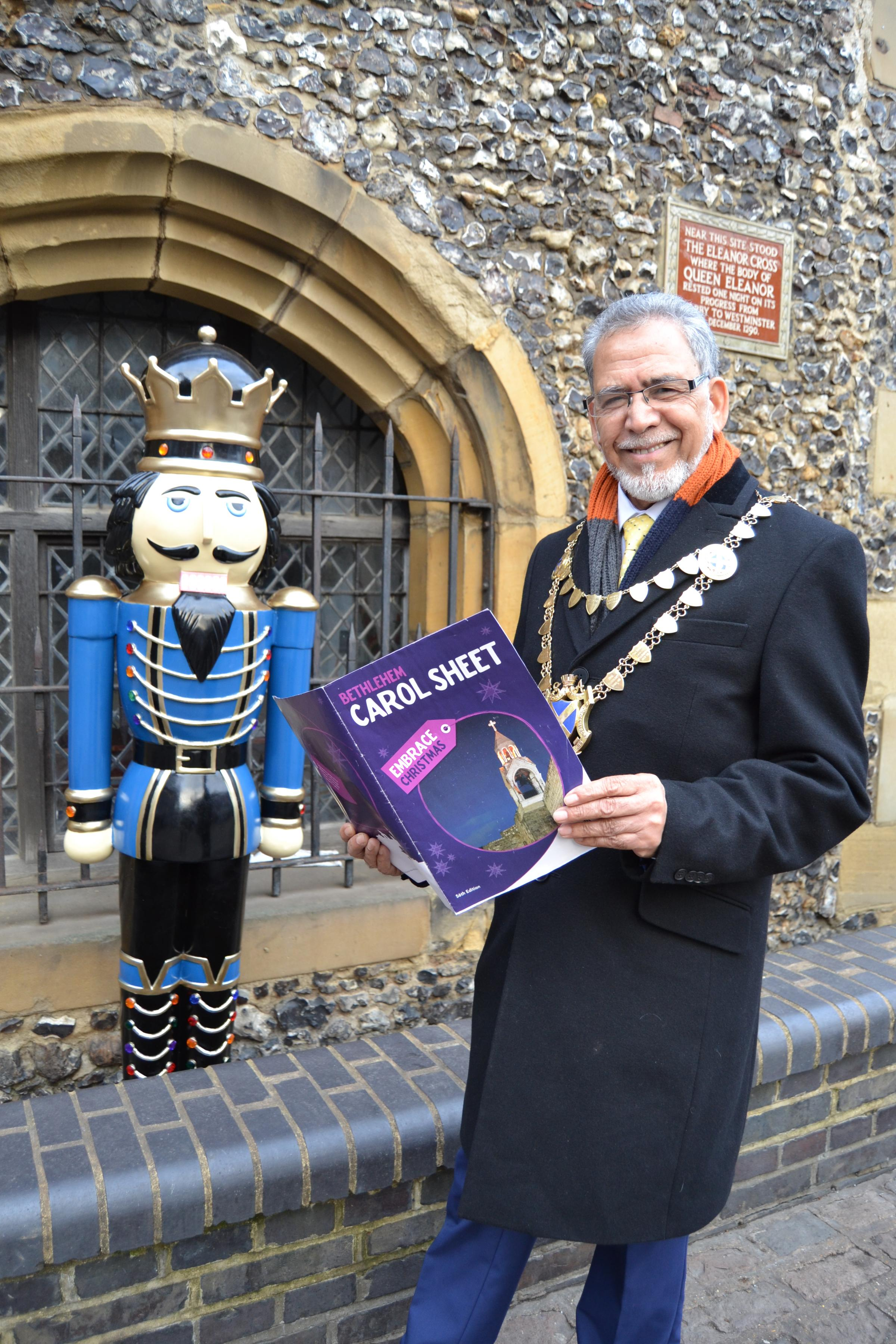 Sing carols with the Mayor this Christmas