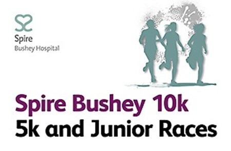 The Spire Bushey 10k (+ 5k/Junior Race)