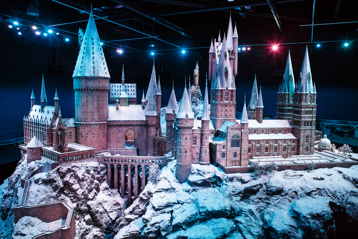 Hogwarts Castle at the Harry Potter Studio Tour